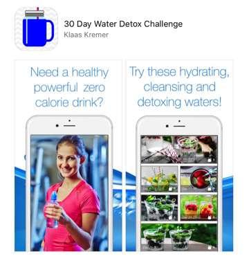 30 Day Water Detox Challenge App 183 Mr Water Geek