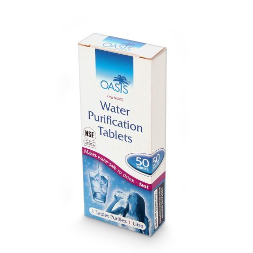 OASIS WATER PURIFICATION TABLETS 1 Pack