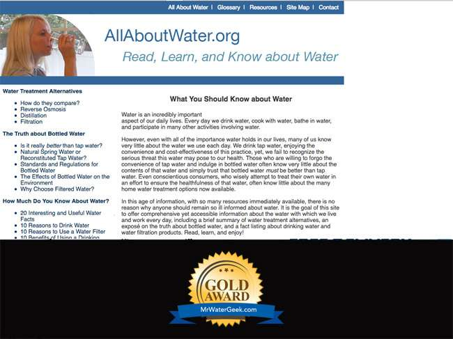 All About Water Top Water Blogs