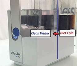 AquaTru Coke to Water