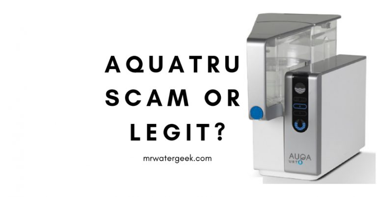 Do NOT Buy Until You Read This AquaTru Water Filter Review
