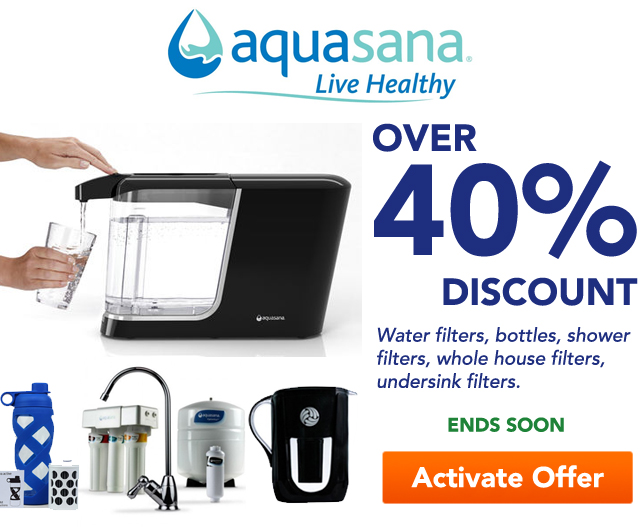 Aquasana Pop Up Offer