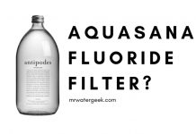 Aquasana Fluoride Filter Review