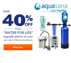 Aquasana Pop Up Offer