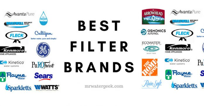 Water Filter Brands: The Good, The BAD And Everything You MUST Know