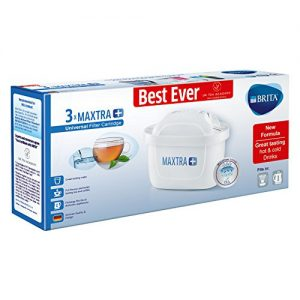 Brita Maxtra+ Water Filter Cartridges, White, Pack Of 3