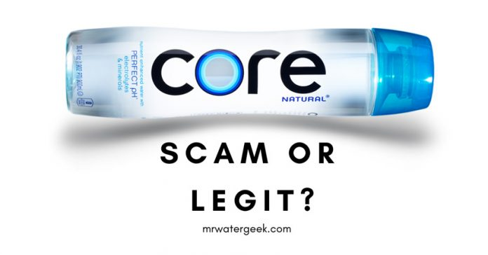 HONEST Core Water Review: Is It Really A SCAM or Legit?