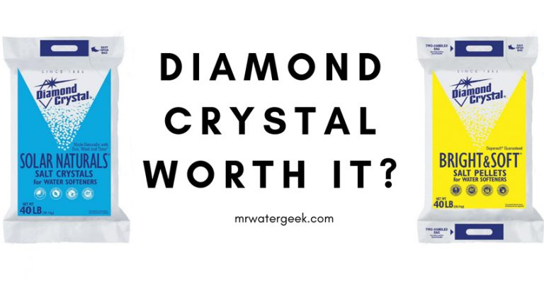 Diamond Crystal Water Softener Salt Review – Is It Really WORTH It?