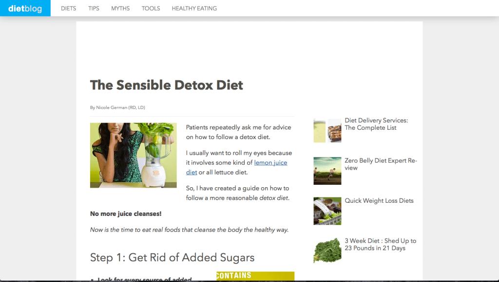 Diet-Blog