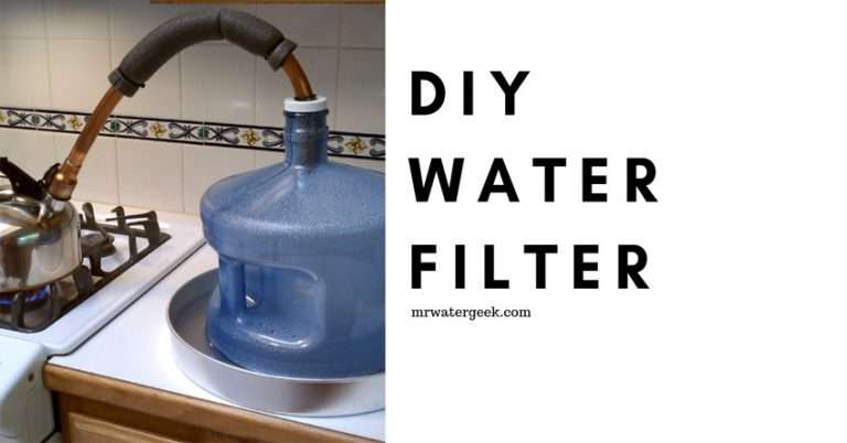 DIY Water Filter: 5 Easy Ways And Why They're All BAD