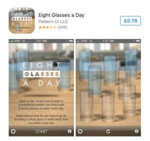 8 Glasses A Day App Drink Water Reminder App