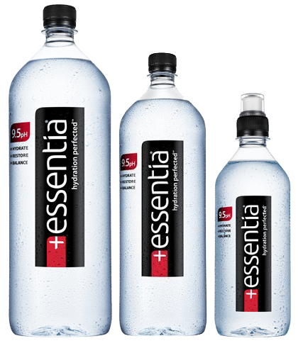 Essentia 9.5 pH Drinking Water, 1.5 Liter