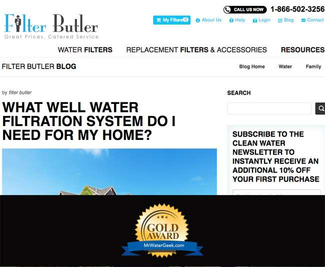 Filter Butler Top Water Blogs