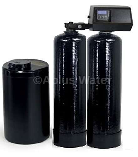 Fleck 9100 SXT Complete Twin Tank Mini Compact Water Softener System 24/7 Soft Water