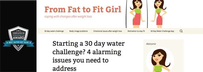 From Fat To Fit Girl - Water Diet Results