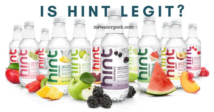 Hint Water Review - Is It Any Good For You Or Total WASTE of Money?