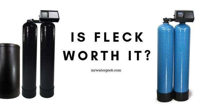 Is Fleck Water Softener Really WORTH $584.99 To You?