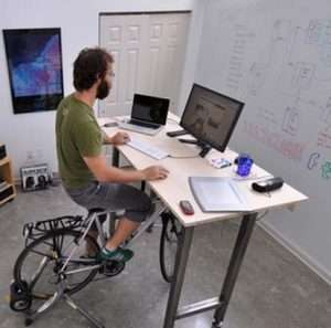 Luke Office Desk/Bike