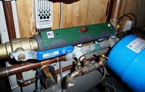 Magnetic Descaler On Plumbing