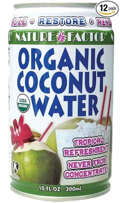 Nature Factor Organic Coconut Water