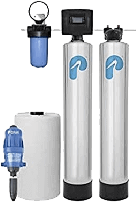 Pelican Whole House Softener WELL WATER Filter Combo