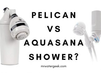 Pelican vs Aquasana Shower Filters COMPARED