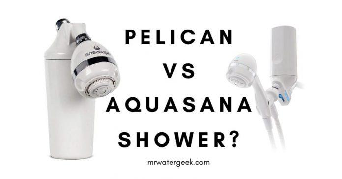 Pelican vs Aquasana Shower Filters COMPARED
