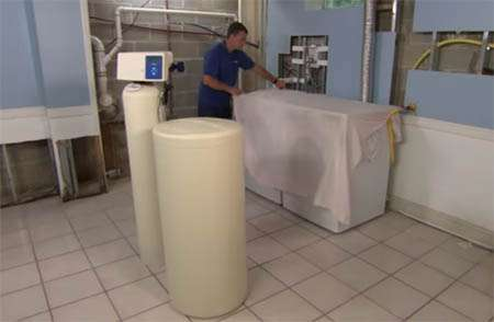 Prep For Water Softener Installation