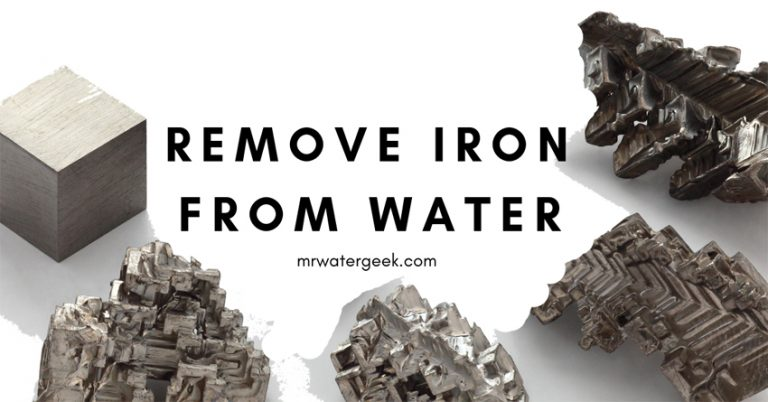 Do NOT Attempt To Remove Iron From Well Water Until You Read This