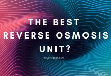 The BEST Reverse Osmosis Unit COMPARED: Must Read!