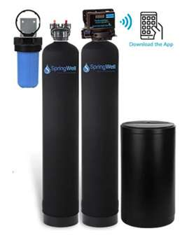 SpringWell Salt Based Softener and Filter