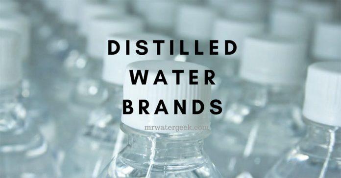 Distilled Water Brands