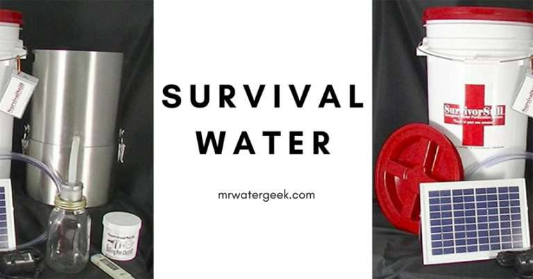 Here's How The Best Water Distiller Helps You SURVIVE A Disaster