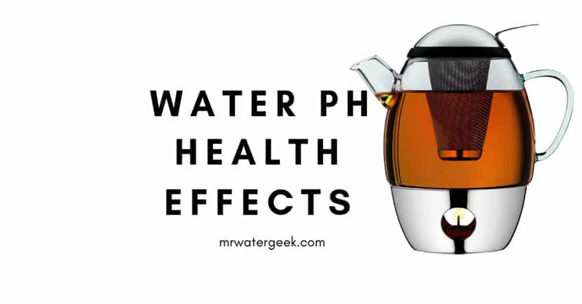 Drinking Water PH Health EFFECTS