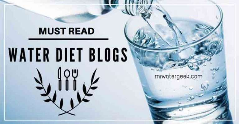 The Best Water Diet Blogs That You MUST Read