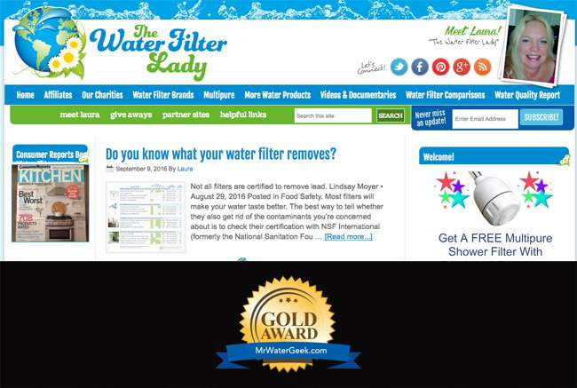 The Water Filter Lady Best Water Blogs