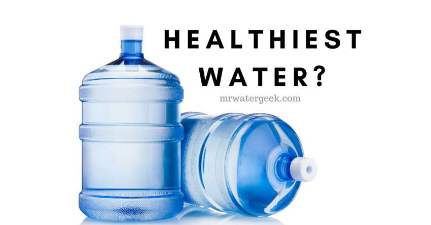 Distilled Water Vs Mineral Water Vs Purified Water