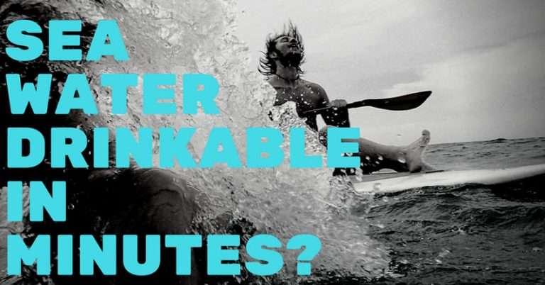 Water Desalination: Drinkable Sea Water In Minutes?