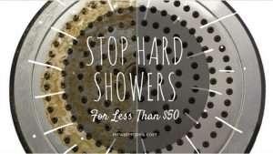 Water Softener Shower Head