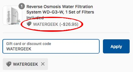 WaterDrop Offer