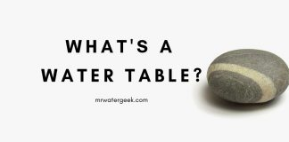 What's A Water Table