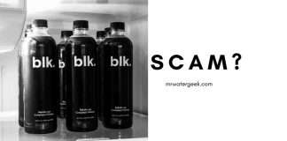 Blk Water Review - Are The Claims A SCAM Or Legit?