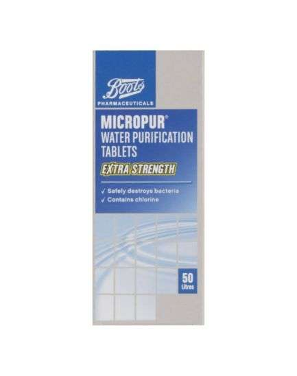 Water Purification Tablets Boots