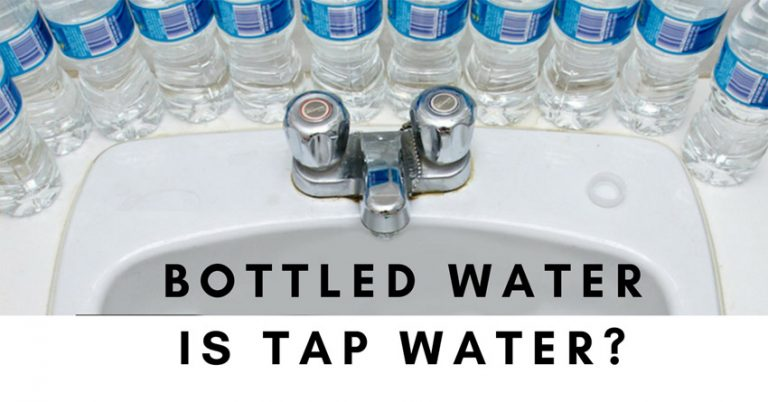 So, Which Bottled Water Brands Come From TAP WATER?