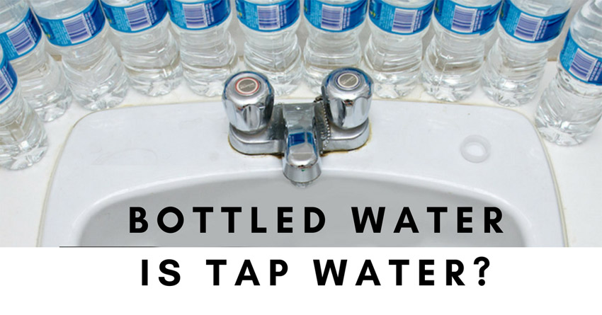 So Which Bottled Water Brands Come From Tap Water