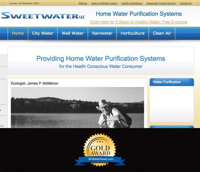 Cleanairpurewater.com Best Water Blogs
