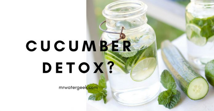 Cucumber Detox Water: Hmm So Does It Actually WORK?