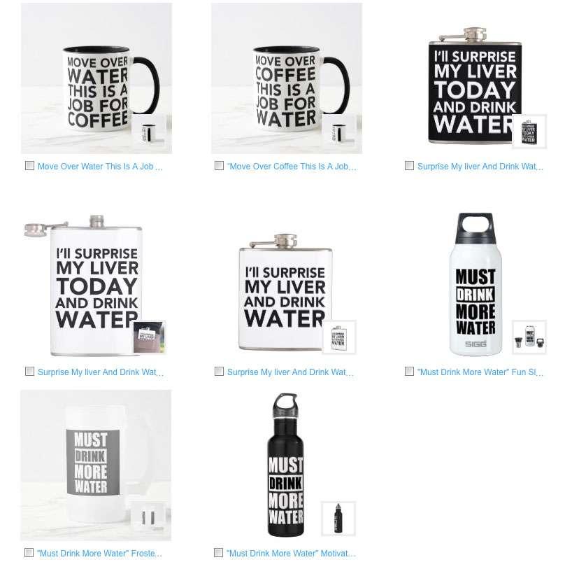 Funny Water Bottle + Funny Mug