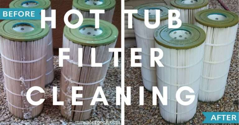 Avoid BAD Hot Tub Filter Cleaning Products