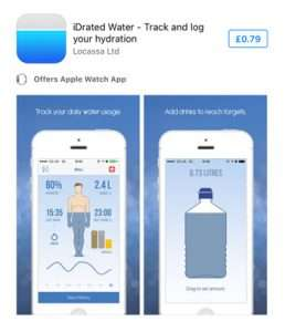 iDrated Drink Water Reminder App
